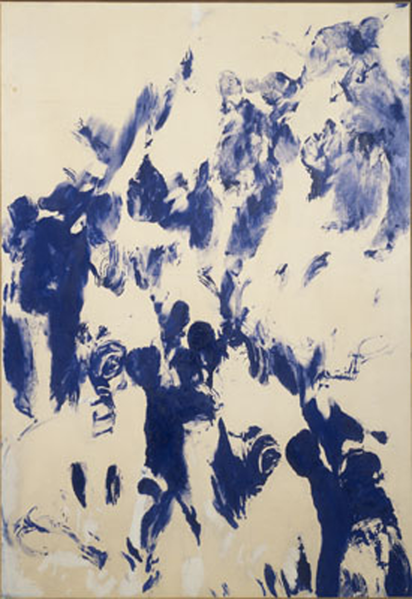 yves klein sans titre ant 154 untitled ant 154 courtesy yves klein and artists rights society ars new