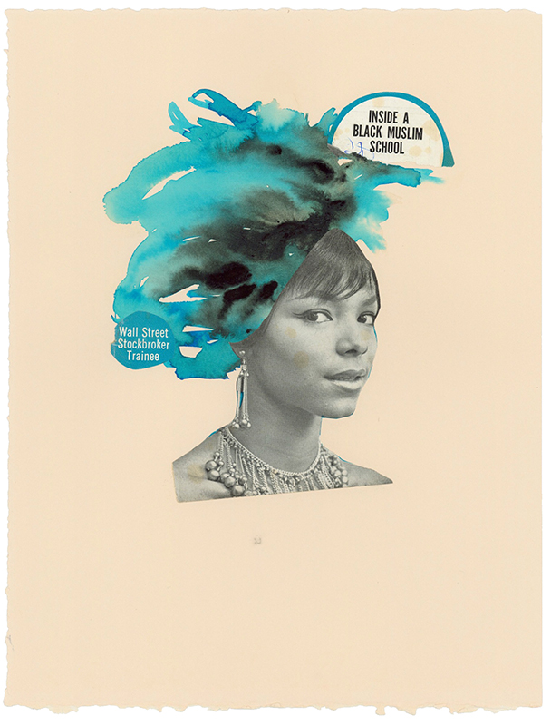 Lorna Simpson, Jet #12, '63, 2012