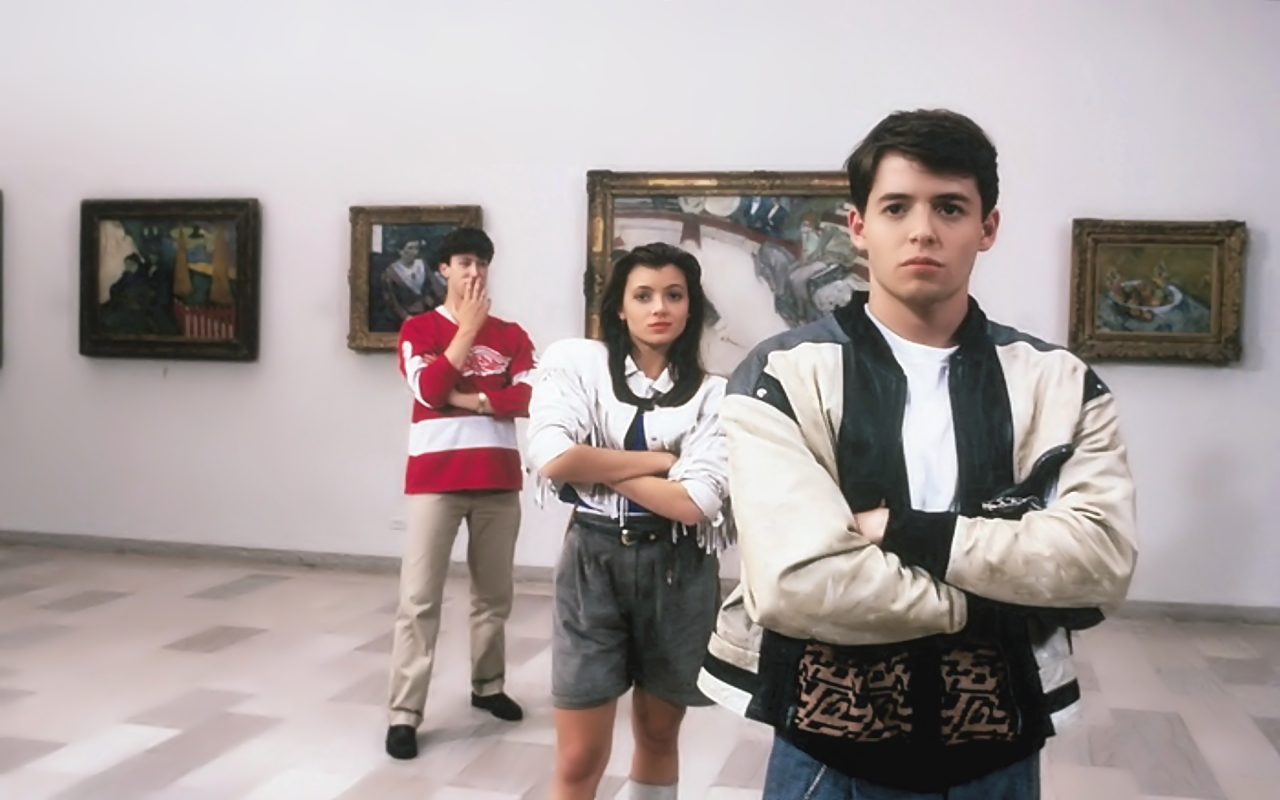 reflexiveness in ferris buelers day off essay roselle, lyndsay arguementive essay (ferris bueller's day off) ferris bueller's day off is one of the most known classics of all timenot just for being a good movie but also for being the only movie that brings harbinger of modern day society.