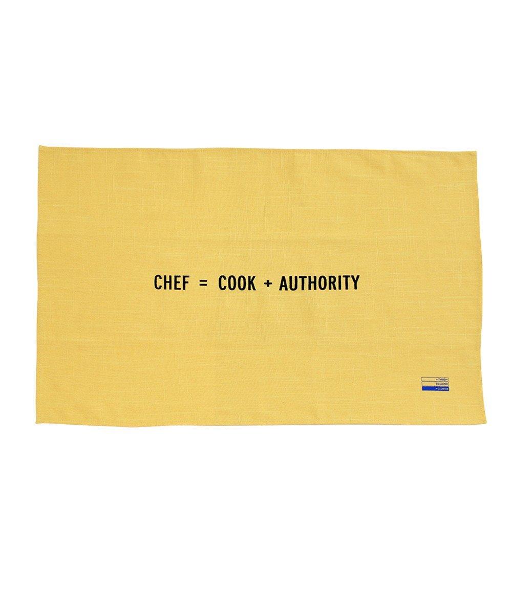 Chef tea towel craig damrauer tdds