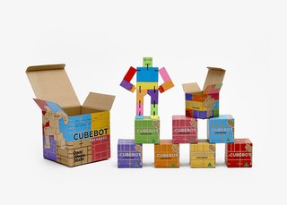 Mini cubebots