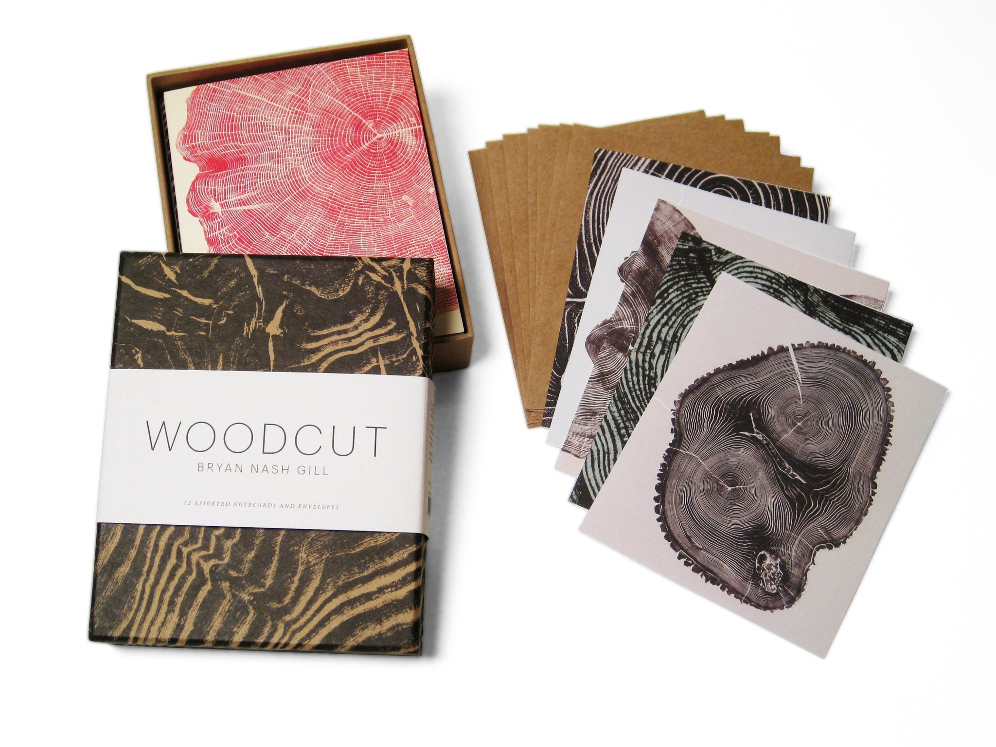Woodcut note