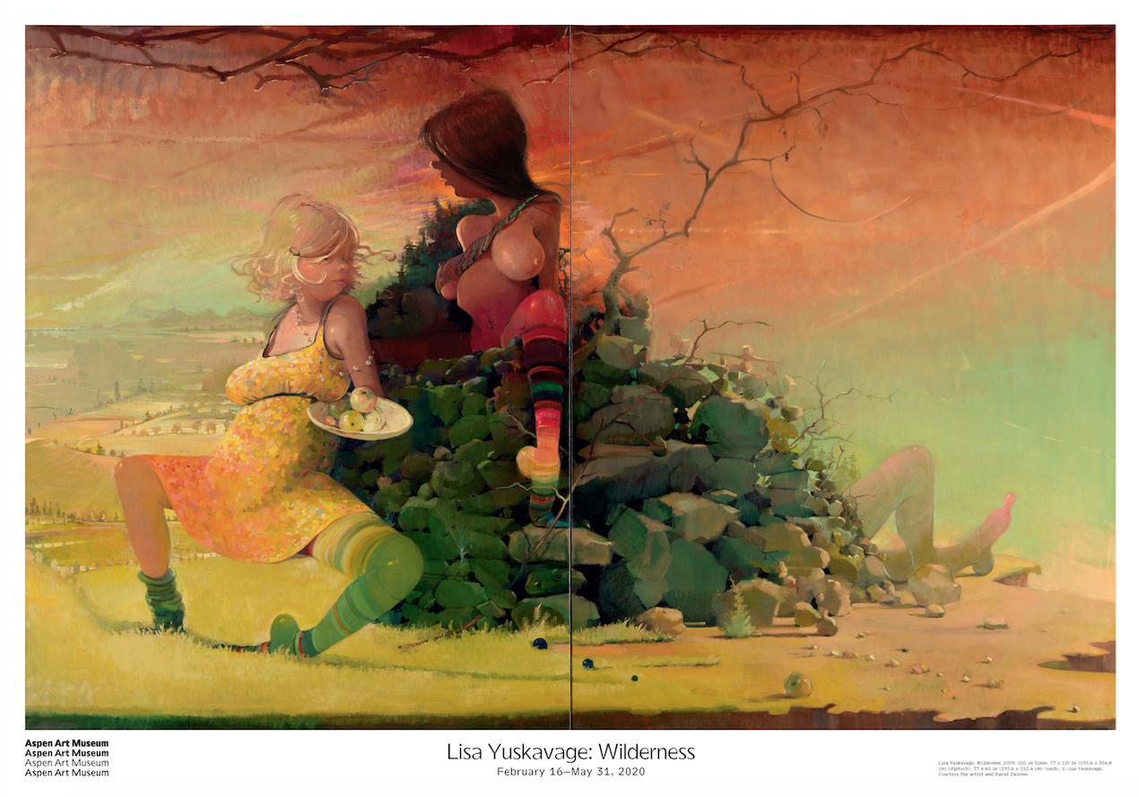 Lisayuskavage poster web