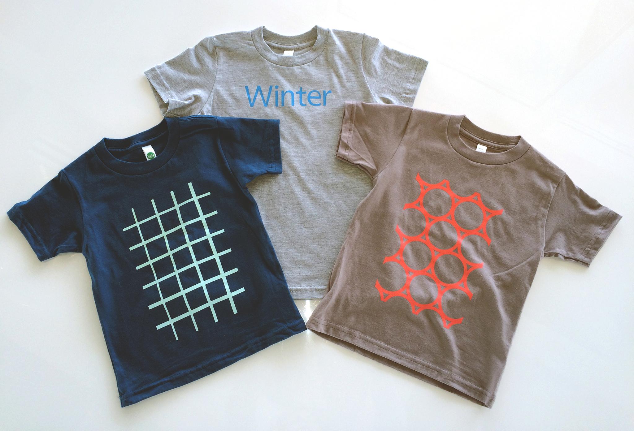 Toddler shirt trio